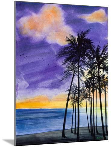 Tropic Nights II-Linda Baliko-Mounted Art Print