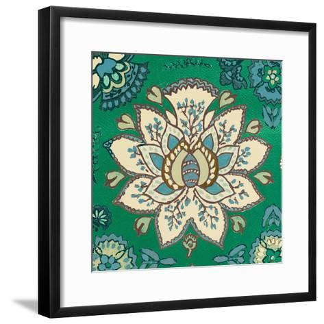 Persian Emerald I-Lanie Loreth-Framed Art Print