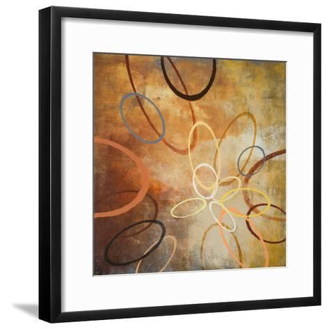 Oxide Burst II-Michael Marcon-Framed Art Print