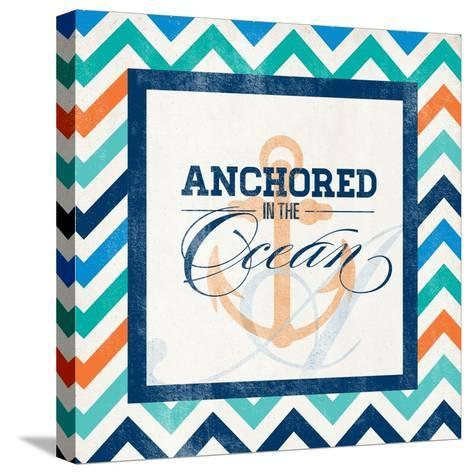 Anchored--Stretched Canvas Print