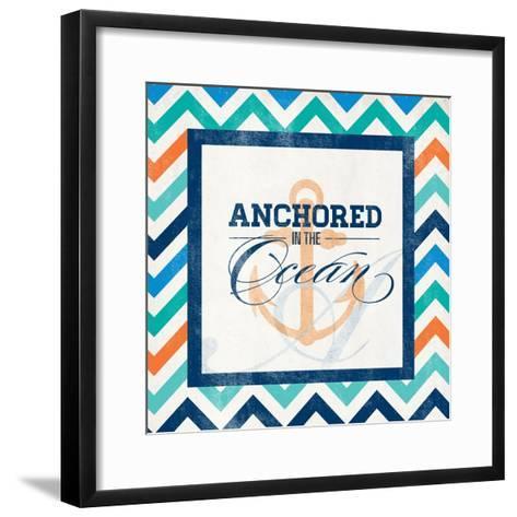 Anchored--Framed Art Print