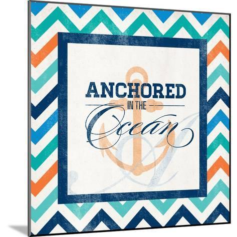 Anchored--Mounted Art Print