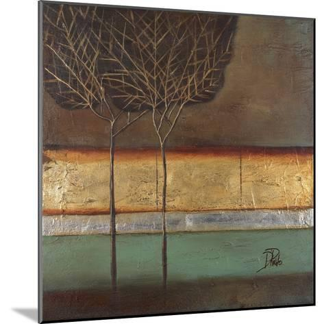 Gold Forest I-Patricia Pinto-Mounted Premium Giclee Print
