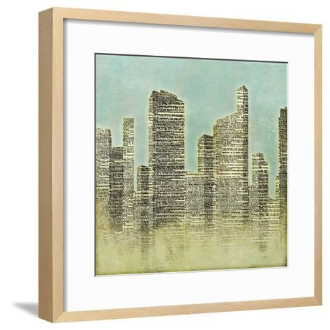 The City II--Framed Art Print