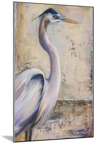 Blue Heron I-Patricia Pinto-Mounted Premium Giclee Print