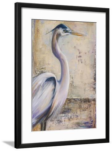 Blue Heron I-Patricia Pinto-Framed Art Print
