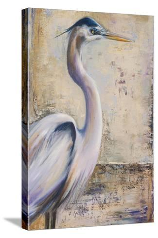 Blue Heron I-Patricia Pinto-Stretched Canvas Print