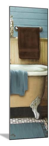 Blue Bain Panel III-Elizabeth Medley-Mounted Art Print