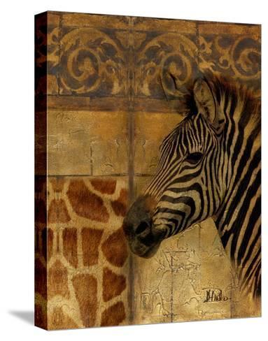 Elegant Safari I (Zebra)-Patricia Pinto-Stretched Canvas Print