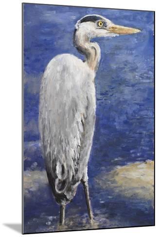 Into the Pond II-Walt Johnson-Mounted Premium Giclee Print