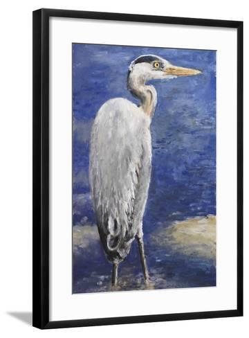 Into the Pond II-Walt Johnson-Framed Art Print