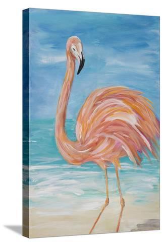 Flamingo II-Julie DeRice-Stretched Canvas Print