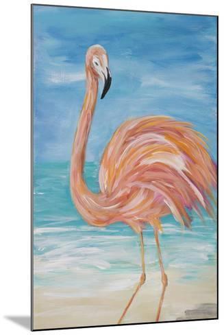 Flamingo II-Julie DeRice-Mounted Premium Giclee Print