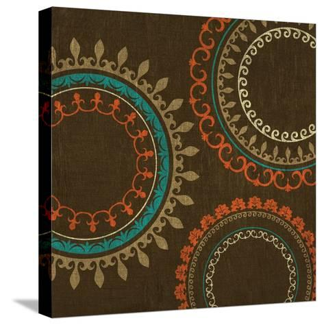 Chocolate Suzani II--Stretched Canvas Print