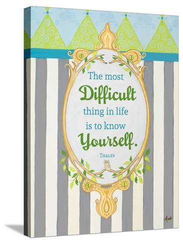 Know Yourself-Andi Metz-Stretched Canvas Print