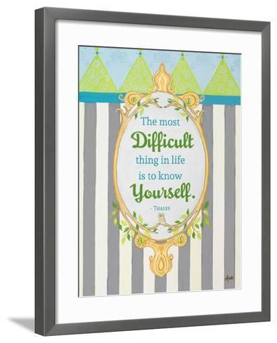 Know Yourself-Andi Metz-Framed Art Print