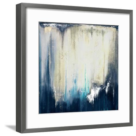 Blue Illusion II-Patricia Pinto-Framed Art Print