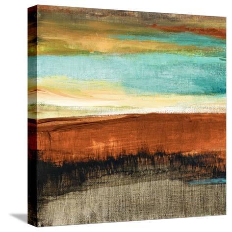 Rustic Sea Square I-Lanie Loreth-Stretched Canvas Print