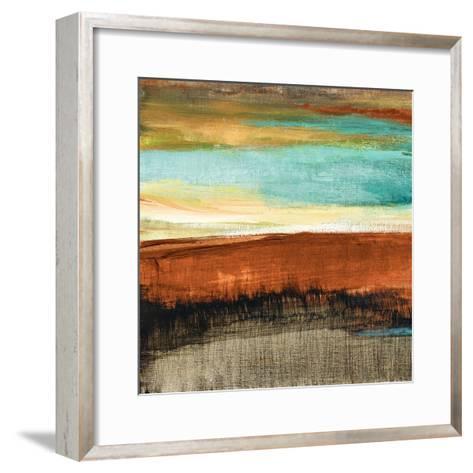 Rustic Sea Square I-Lanie Loreth-Framed Art Print