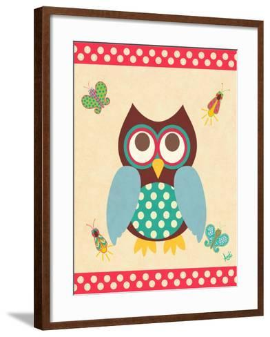 Wise Owls I-Andi Metz-Framed Art Print