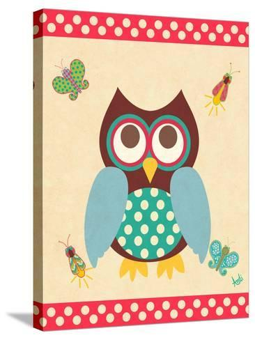 Wise Owls I-Andi Metz-Stretched Canvas Print