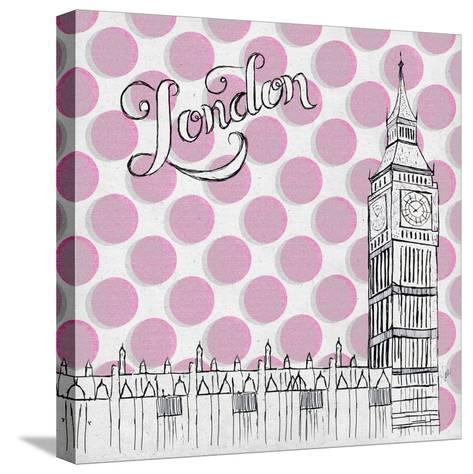 Textile London-Gina Ritter-Stretched Canvas Print