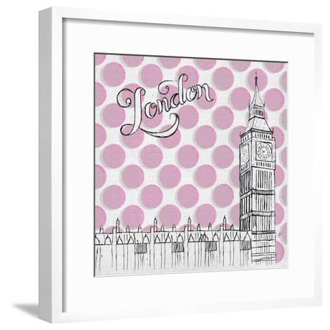 Textile London-Gina Ritter-Framed Art Print