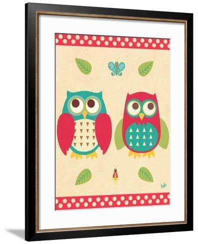 Wise Owls II-Andi Metz-Framed Art Print