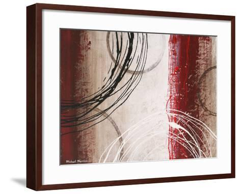 Tricolored Gestures I-Michael Marcon-Framed Art Print