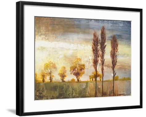 Standing in the Wind II-Michael Marcon-Framed Art Print
