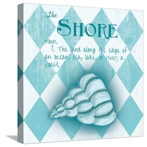 The Shore Border-Andi Metz-Stretched Canvas Print