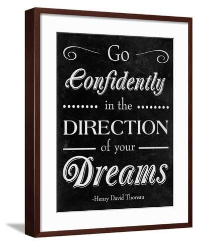 Direction of your Dreams--Framed Art Print