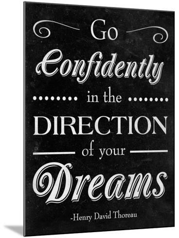 Direction of your Dreams--Mounted Premium Giclee Print