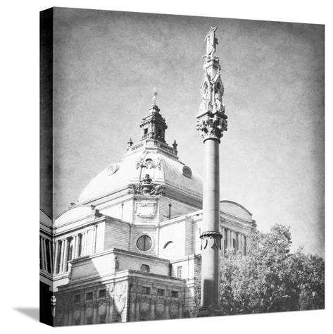 London Sights IV-Emily Navas-Stretched Canvas Print
