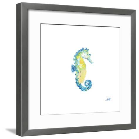 Sea Creatures III-Julie DeRice-Framed Art Print