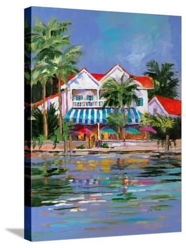 Beach Resort I-Jane Slivka-Stretched Canvas Print