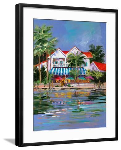 Beach Resort I-Jane Slivka-Framed Art Print