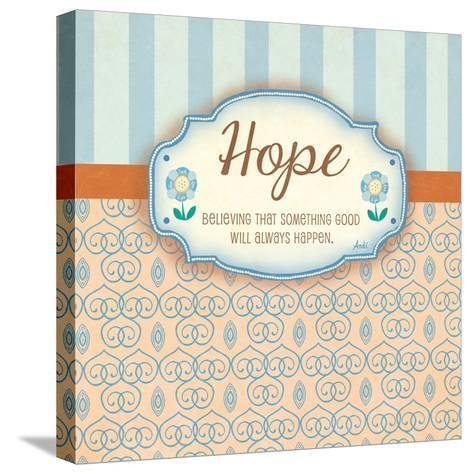 Hope-Andi Metz-Stretched Canvas Print