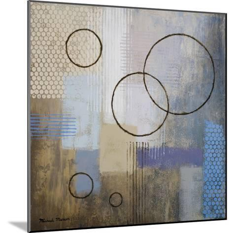 Rain Abstract I-Michael Marcon-Mounted Premium Giclee Print