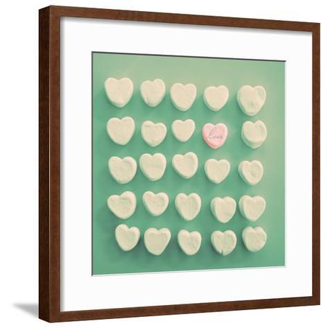 Marshmallow Love-Gail Peck-Framed Art Print