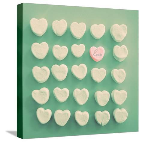 Marshmallow Love-Gail Peck-Stretched Canvas Print