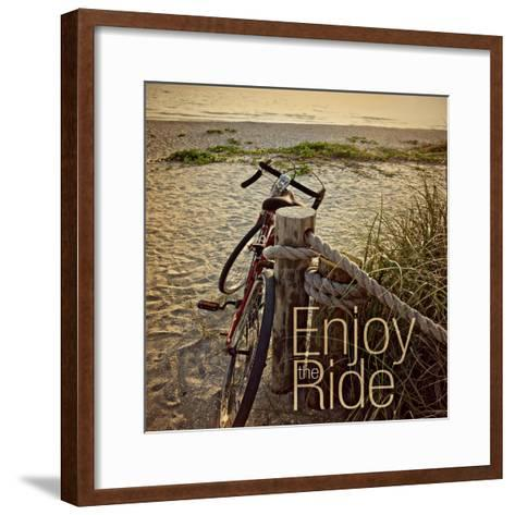 Enjoy the Ride-Gail Peck-Framed Art Print