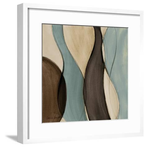 Coalescence in Bleu I-Lanie Loreth-Framed Art Print