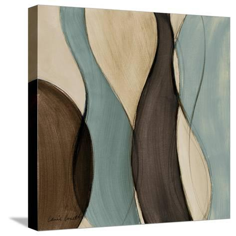 Coalescence in Bleu I-Lanie Loreth-Stretched Canvas Print
