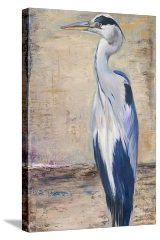 Blue Heron II-Patricia Pinto-Stretched Canvas Print