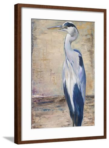 Blue Heron II-Patricia Pinto-Framed Art Print