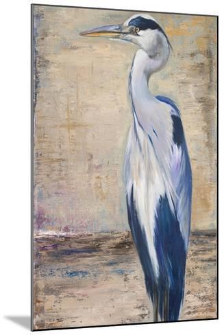 Blue Heron II-Patricia Pinto-Mounted Premium Giclee Print