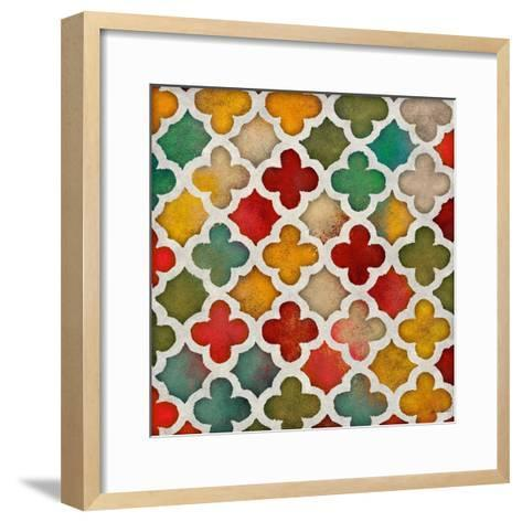 Color Burst Lattice I-Lanie Loreth-Framed Art Print
