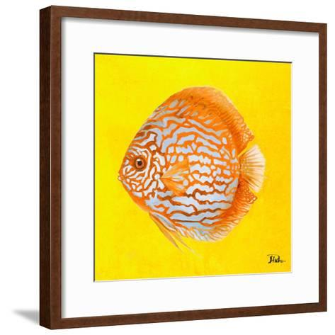Bright Aquatic Life IV-Patricia Pinto-Framed Art Print