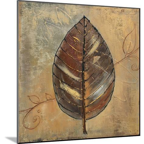New Leaf II (mustard)-Patricia Pinto-Mounted Art Print